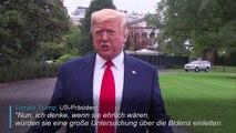 Trump fordert China zu Ermittlungen gegen die Bidens auf