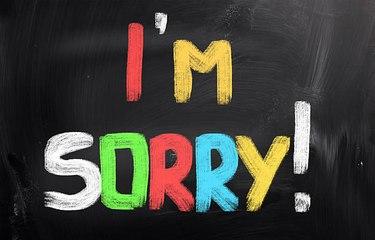 ¿Cómo pedir perdón tras lastimar a alguien?