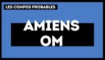 Amiens - OM : les compos probables