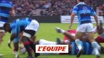 Comprendre le rugby, l'entrée latérale au ralenti - Rugby - Mondial