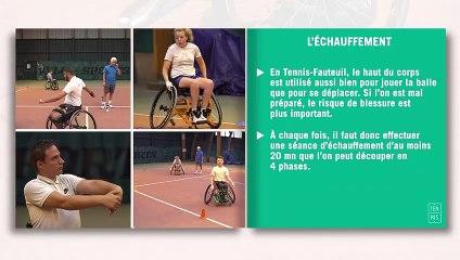 Les fiches techniques du tennis-fauteuil : l'échauffement