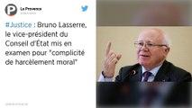 Le vice-président du Conseil d'État mis en examen pour complicité de harcèlement moral
