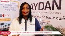 ARCHIBAT 2019 : Kaydan apporte des solutions sur le marché l'immobilier en Côte d'Ivoire