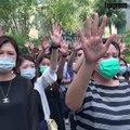 Après quatre mois de manifestations, Hong Kong interdit le port du masque