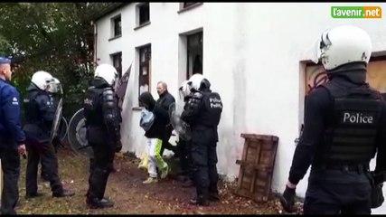 Louvain-la-Neuve: expulsion des occupants de la petite maison du lac