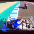 Photographier un pilote de moto