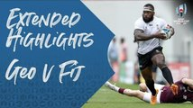 Extended highlights of Georgia v Fiji at Rugby World Cup 2019