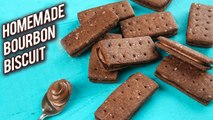 Best Home Made Bourbon Biscuits | How To Make Bourbon Biscuits | Bourbon Biscuit Recipe| Bhumika