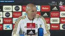 Zinedine Zidane s'agace du débat Thibaut Courtois-Alphonse Areola
