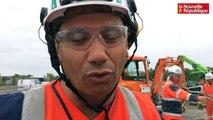 VIDEO. Tours : il veille à la sécurité des hommes sur le chantier de l'A10