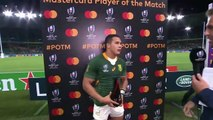 Kolbe wins Player of the Match for RSA v ITA