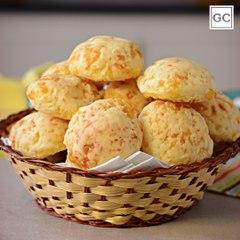 Pão de queijo simples   Receitas Guia da Cozinha
