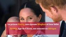 Meghan et Harry loin du tumulte de Londres