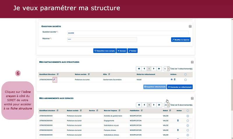 Tutoriel Chorus Pro V2 - Paramétrer les entités publiques