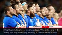 Fast Match Report - South Africa 49-3 Italy