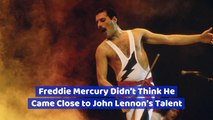 Freddie Mercury Was A Humble Man