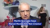 Martin Scorsese Slams Marvel Movies