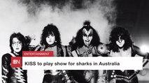 Sharks Get To Meet Rock Legends
