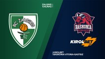 Zalgiris Kaunas - KIROLBET Baskonia Vitoria-Gasteiz Highlights | Turkish Airlines EuroLeague, RS Round 1