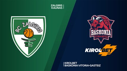 EuroLeague 2019-20 Highlights Regular Season Round 1 video: Zalgiris 58-70 Baskonia