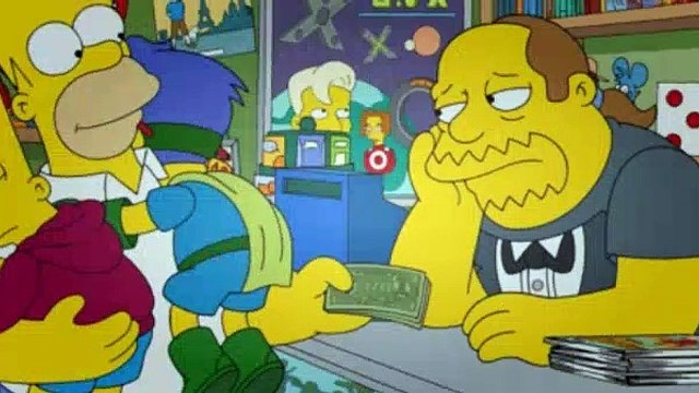 The Simpsons Season 25 Episode 10 - Married to the Blob