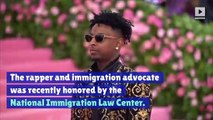 21 Savage Calls for Young Immigrants to Be Granted US Citizenship