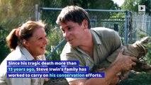 Steve Irwin's Family Opens Elephant Hospital in His Honor