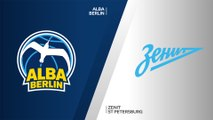 ALBA Berlin - Zenit St Petersburg Highlights | Turkish Airlines EuroLeague, Regular Season Round 1