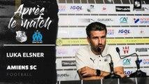 Après le match - Amiens SC - O.Marseille ( 3-1), Luka Elsner