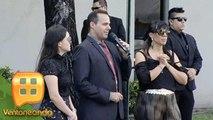 ¡José Joel, Marysol y Sarita Sosa dan mensaje durante el funeral de su papá José José! | Ventaneando