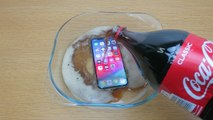 Apple iPhone Xs Coca Cola Freeze Test 24 Hours