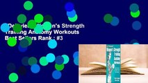 Delavier's Women's Strength Training Anatomy Workouts  Best Sellers Rank : #3