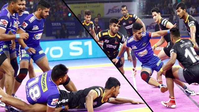 Pro Kabaddi 2019 : Jaipur Beats Bengaluru To Keep Playoff Hopes Alive, Steelers Thrash Titans