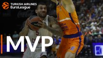 Turkish Airlines EuroLeague Regular Season Round 1 MVP: Mike James, CSKA Moscow