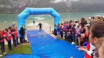 Triathlon : c'est parti au lac d'Aiguebelette