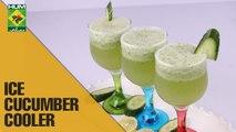 Refreshing Ice cucumber cooler Drink | Tarka | Masala TV Show | Rida Aftab