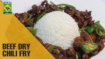 Beef Dry Chili Fry | Mehboob's Kitchen | Masala TV Show | Mehboob Khan