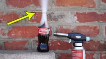 COCA COLA VS GAS TORCH