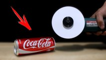 EXPERIMENT - Can You Cut Coca Cola with Paper
