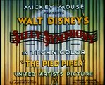 Silly Symphonies - The Pied Piper (1933)
