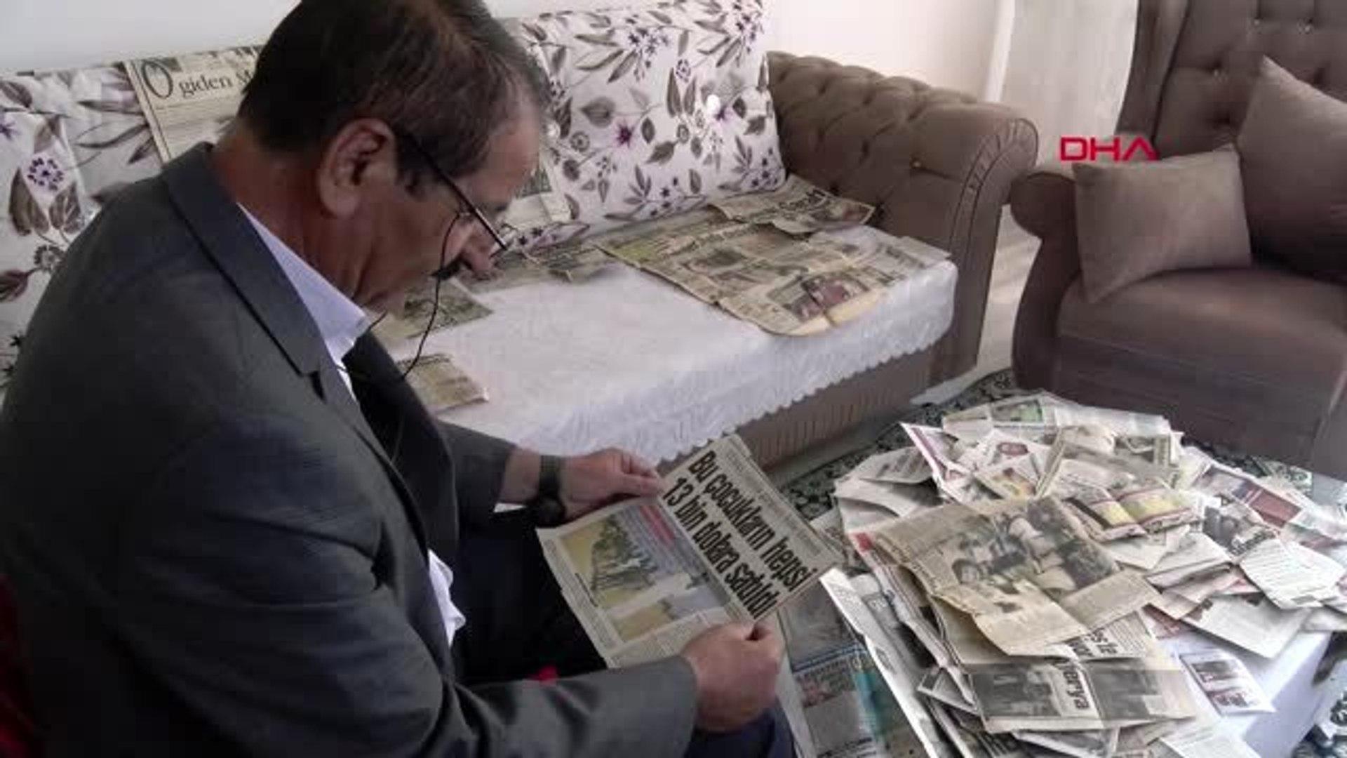 Diyarbakır 42 yıldır 'acı haber' kupürü biriktiriyor