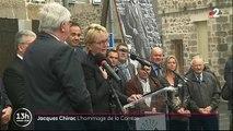 VIDEO. Hommage à Jacques Chirac : bouleversée, Claude Chirac n'a pas pu retenir ses larmes