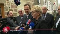 Bernadette Chirac émue par les hommages à Jacques Chirac