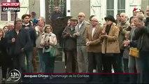 Jacques Chirac mort : Sa fille Claude en larmes lors de l'hommage à son père en Corrèze (vidéo)