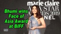 Bhumi wins Face of Asia Award at BIFF