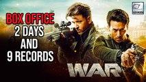 9 Box-Office Records Created By WAR | Hrithik Roshan | Tiger Shroff