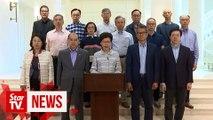 Hong Kong invokes emergency law to stop violence