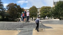 Brest. Pour les as de la glisse, le skatepark Kennedy