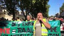Gilets jaunes à Avignon : environ 200 manifestants sur la rocade, la situation un peu tendue