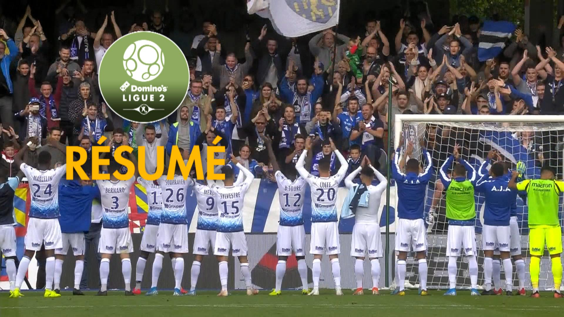 AJ Auxerre - Havre AC (2-0)  - Résumé - (AJA-HAC) / 2019-20